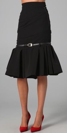 preen pepper skirt - love how this walks the line between conservative and sexy