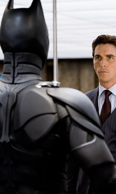 Bruce Wayne, Christian Bale, and Batman