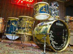Yamaha The Washi Limited Edition 6-Piece Drum Kit (very Rare)