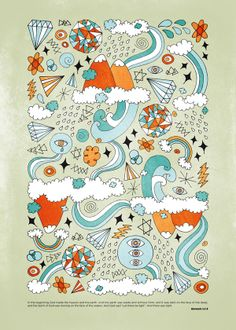 love this illustration found via wild olive. http://www.pepperdesign.it/genesis.html
