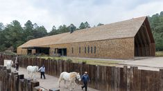 2014 AR Emerging Architecture Awards Winners Announced,CC Arquitectos' Equestrian Centre in Valle de Bravo, Mexico. Equestrian Stables, Horse Stables, Horse Barns, Horse Horse, Architecture Awards, Landscape Architecture, Architecture Design, Contemporary Architecture, Horse Ranch