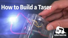 This is going to be a very quick tutorial on how to build a very cheap and easy to make taser, or a stungun. Obviously this is not a toy and Im not responsible for. Homemade Generator, Solar Generator, Diy Electronics, Electronics Projects, Spy Weapons, Survival Weapons, Survival Kits, How To Make Traps, Electrical Projects