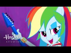 """MLP: Equestria Girls - Rainbow Rocks EXCLUSIVE Short - """"A Case for the Bass"""" - YouTube"""