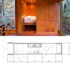 Precisando de uma casa pequena, prática e confortável? Quem sabe uma casa de hóspedes no quintal? Uma casa de campo ou de praia sem precisa...
