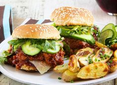 BBQ Sloppy Joes. Make summer happen. http://www.chefd.com/collections/all/products/bbq-turkey-sliders-sloppy-joes