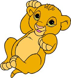 baby Simba - Lion King