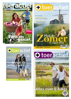 Toeractief Magazine Grid Cover Layout Design