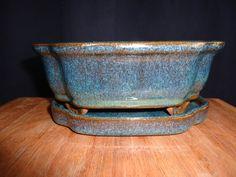 Bonsai Pot Bonsai Tray for Bonsai Glazed by BucksCountyBonsai, $16.00