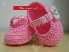 graficos sapatinhos de croche para bebe - Pesquisa Google