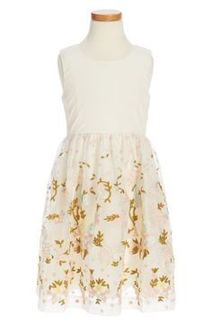 Ruby & Bloom Floral Embroidered Dress (Toddler Girls, Little Girls & Big Girls) available at #Nordstrom