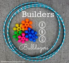 BLISSFUL ROOTS: Builders & Bulldozers {Fun Backyard Game For The Whole Family}