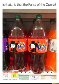 It's him! The Fanta of the Opera!