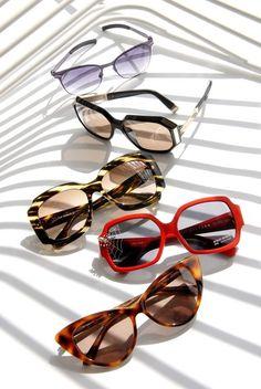 sunglasses/styling for vogue magazine
