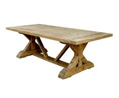 Dinning table from TevaLiving - feels like dining in the abbey...