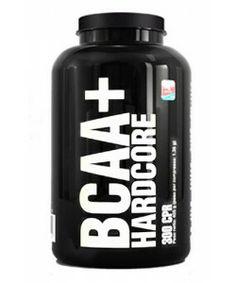 BCAA+ HARDCORE to doskonały suplement zawierający rozgałęzione aminokwasy (leucyna, izoleucyna i walina) z dodatkiem witaminy B6 i witaminy B12. Jedna tabletka zawiera aż 1350mg BCAA