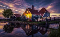 Zaanse Schans, Holland. - Wishing You All new light and joy this fresh Spring!