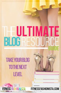 The Ultimate FREE Blog Resource Guide.  Its time to take your blog and business to the next level.