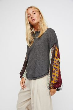 We The Free Blossom Thermal   Free People
