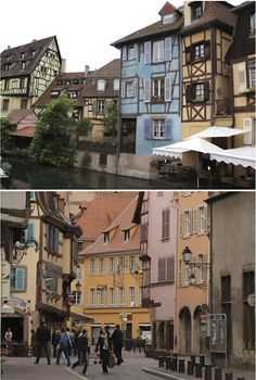 Strasbourg. Architecture like the hotel Miranda stays in when she's looking for Sybil.
