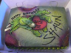 Gonna try to make this for my sis some day, when I get better at cakes and definitely more familiar with airbrushing.