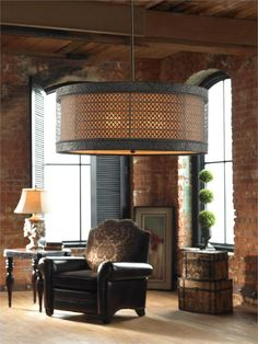 Uttermost | New Orleans Hanging Shade | Available at The Tin Roof, Spokane WA -- Spokane's Favorite Furniture Store!