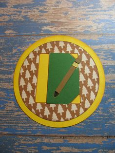 Campin Critters Badge - Journal