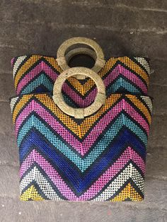 Bask in the beauty of our nature designs for bags. Fair Trade, Philippines, Straw Bag, Nature, Handmade, How To Wear, Bags, Accessories, Beauty