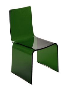 Charmant Green Acrylic Chair
