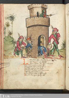 62 [29v] - Ms. germ. qu. 12 - Die sieben weisen Meister - Seite - Mittelalterliche Handschriften - Digitale Sammlungen