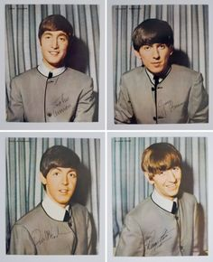 The Beatles headshots, 1964