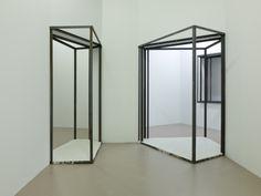 Oscar Tuazon. Sensory Spaces, 2013; installation view, Museum Boijmans Van Beuningen, Rotterdam. Courtesy of Museum Boijmans Van Beuningen. Photo: Studio Hans Wilschut.