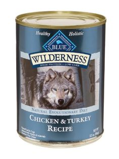 $27.45-$27.45 Inspired by the diet of the wolf, BLUE Wilderness is a high-protein, low-carbohydrate food that will provide your active dog with a higher concentration of the meat he loves. BLUE Wilderness is made with the finest natural ingredients, including generous amounts of tasty and nutritious turkey and chicken. And Wilderness contains no animal by-products, artificial preservatives, corn, ...