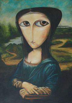 Mona Lisa del Giocondo [Paulo Govêa]  (Gioconda / Mona Lisa)