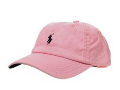 Polo Baseball Cap - Pink