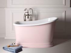 Tubby Torre Free Standing Bath - Albion Bath Co - Find out more.