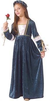 Girls Juliet Child Costume