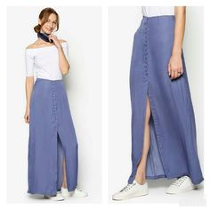 """Love Button Front Maxi Skirt from ZALORA. This maxi skirt from ZALORA certainly fits the saying """"as cute as a button"""".Shop this @zaloraph. And use code ZBAP8MX to save 15% off on your purchase. - - #fashioninspiration #fashion #fashionista #fashiongram #fashionaddict #fashionlover #ootd #fashionpost #style #fashioninsta #fashiontrends #fashionphotography #streetstyle #fashionable #outfit #fashiondiaries #fashiondaily #fashionoftheday #beautiful #fashiondesigner #fashionicon #fashiondesign…"""
