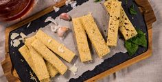 Barritas de avena y parmesano