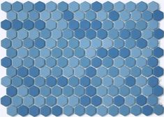 Leap Matte Glazed Hexagon Mosaic Tile, Product Code LGH-205 from the Lyric Glazed Porcelain Mosaic Tile Collection, sold by the 1 s.f. Sheet, mesh-mounted