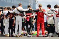 "Pre-race Bianchi tribute caused Kvyat ""problems"", says Horner Formula 1, Lotus F1, Amg Petronas, Special Images, Young Guns, One Team, Mercedes Amg, Racing, In This Moment"