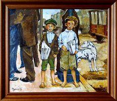 Veen 2013 -Newsboys Oil on canvas 60x70.