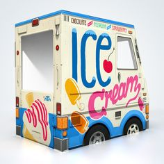 Love that the Oto Oce Cream Truck is born & made in the US! And, its totally collapsable - easy to stash away when not in use.