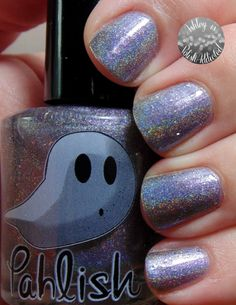 Pahlish Sugar Plum Marshmallow from the Happy Holo-ween Collection