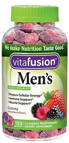 #feelingblesseda #cosmetics Made with deliciously bold natural colors and flavors, easy-to-take #Vitafusion Men's daily multivitamins are the nutritious alternat...