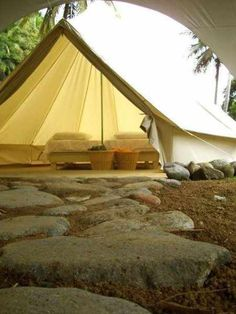 Bell Tent - 4m Deluxe Bell Tent - tipi yurt festival glamping COLLECTION ONLY