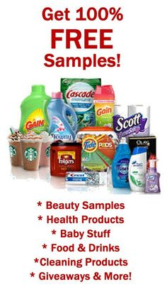 FREE Samples of Your Favorite Brand Names all available to you by Joining the #1…