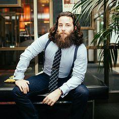 Beard? Full on MANE.