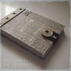 Pre novinára (zápisník A7) by ardeas - SAShE.sk - Handmade Zápisníky