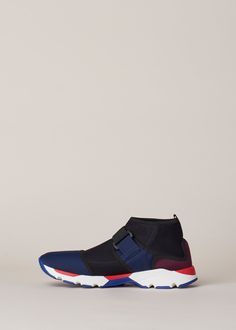 timeless design fa413 c56d2 Marni Sneaker Boot Shoe (Eclipse   Deep) Sneakers, Skor, Mode