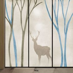 Attractive Amazon.com: Beyong Life Deer Forest Privacy Window Film Glass Stickers  Bedroom Bathroom Office